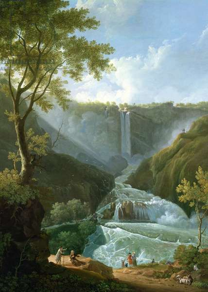The Falls of Terni, 1767 (oil on canvas)