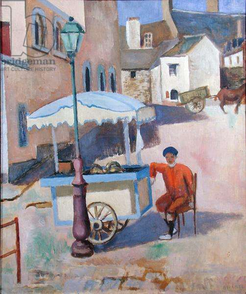 Ice Cream, Brittany, c.1930 (oil on canvas)