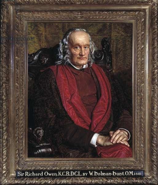 Sir Richard Owen, 1881 (oil on board)