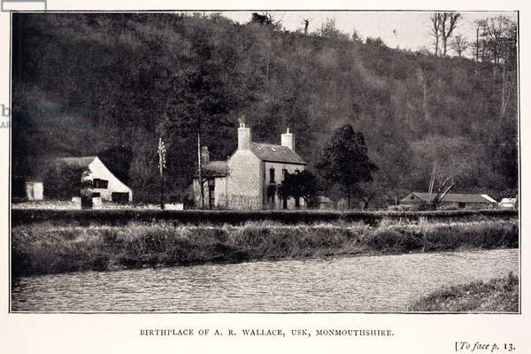 The birthplace of Alfred Russel Wallace