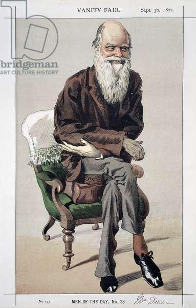 Portrait of Charles Robert Darwin