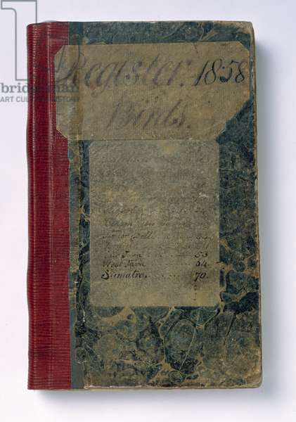 Notebook of Alfred Russel Wallace