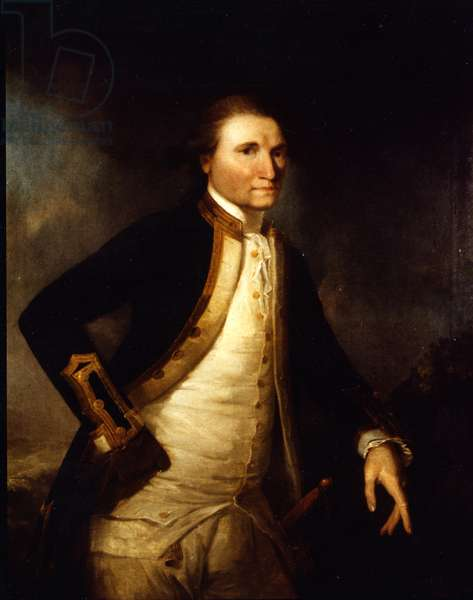 Captain James Cook (oil on canvas)