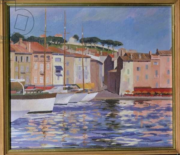 St.Tropez, Var (oil on canvas)