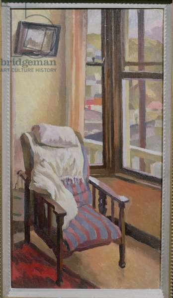 Chair (oil on canvas)