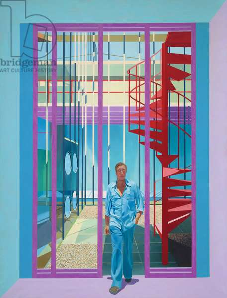 Walking Figure, 1981-82 (oil on canvas)