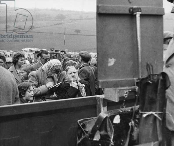 Holcombe Hunt, Bolton, Lancashire, 1958 (b/w photo)