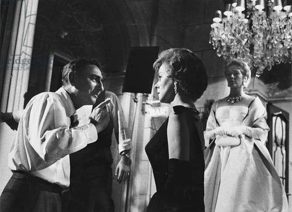 David Miller and Susan Hayward, Hollywood, 1960 (b/w photo)