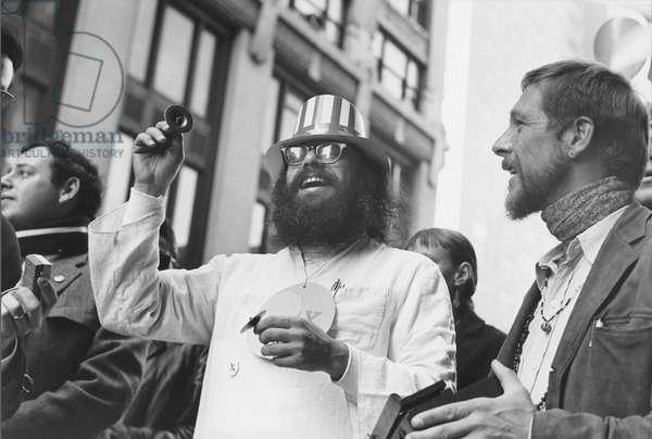 Allen Ginsberg, Greenwich Village, New York, 1964 (b/w photo)