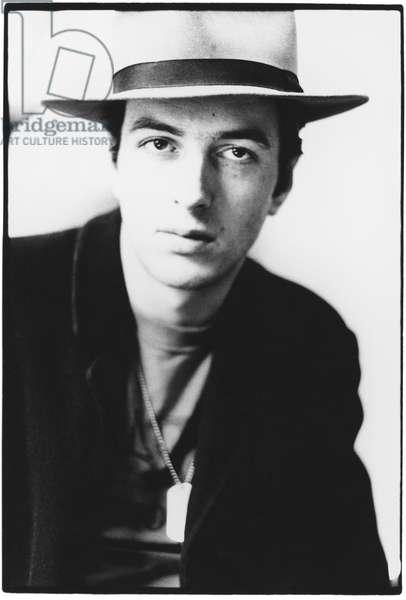 Joe Strummer, 1980 (b/w photo)