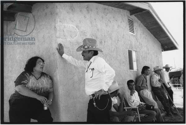 Penasco, New Mexico, USA, 1995 (b/w photo)