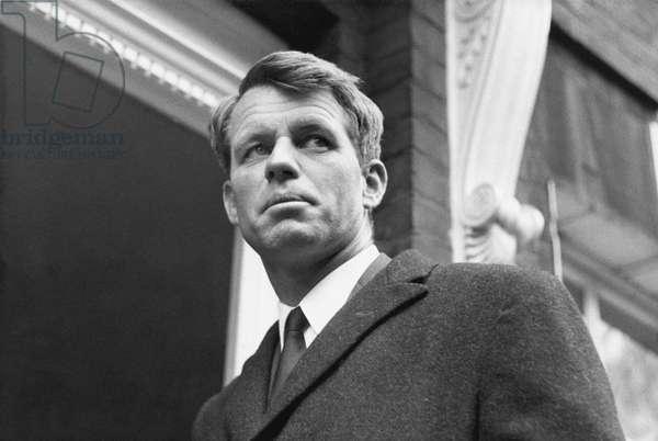 Robert Kennedy, 1960s (b/w photo)