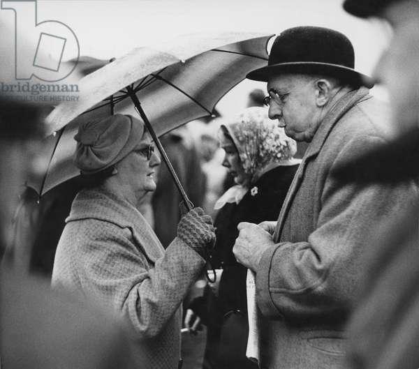 Holcombe Hunt, Lancashire, 1958 (b/w photo)