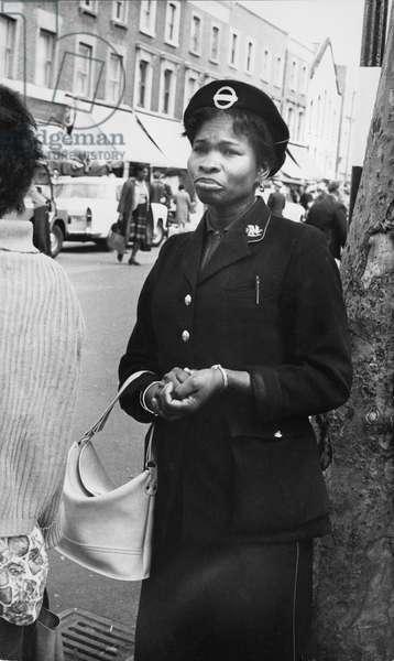 Brixton Clippie, 1960s (b/w photo)