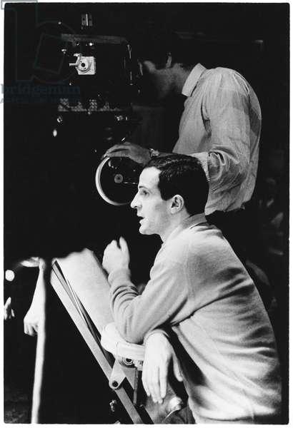 François Truffaut, 1967 (b/w photo)