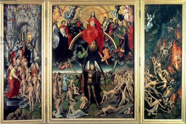 The Last Judgement, 1473 (oil on panel) (see also 178090)