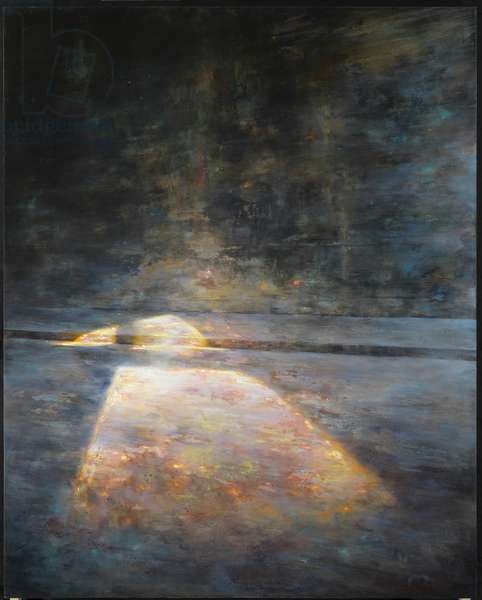 Untitled, 2008 (egg tempera on gesso panel)