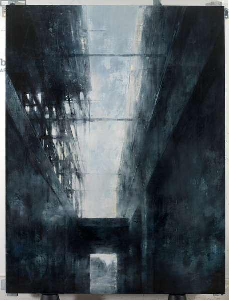 Church Crow Street, 2006 (egg tempera on gesso panel)