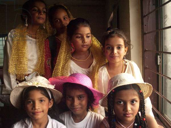 Child dancers from India
