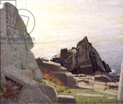 Below Carn Barges, rocks below Lamorna