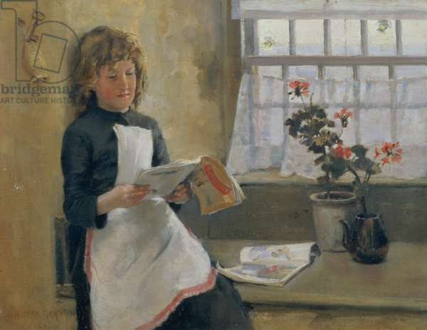 In a cottage by the sea, 1887