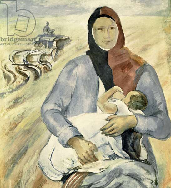 Mother, 1930 (oil on canvas)