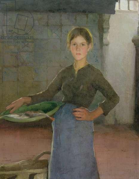 The Zandvoort Fishergirl, 1884