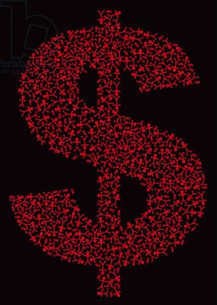 Dollar People Icon, 2006 (digital)