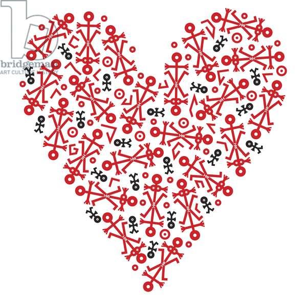 Heart Icon, 2006 (digital)