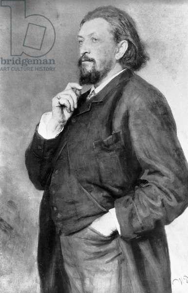 Mitrofan Belyayev (oil on canvas)