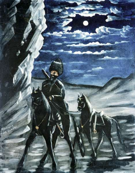 A Robber with a Stolen Horse