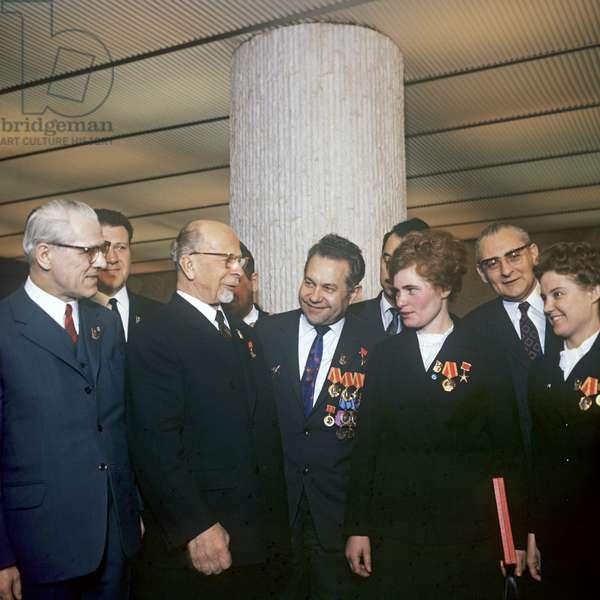 East German Politburo, 1971 (photo)
