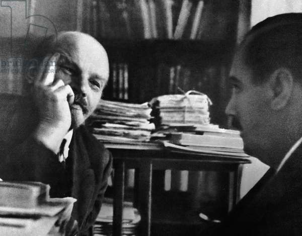 H. G. Wells, 1934 (b/w photo)