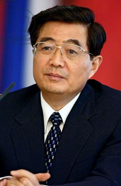 385330 27.05.2003 Chinese President Hu Jintao during his state visit to Russia. Sergey Guneev / Sputnik