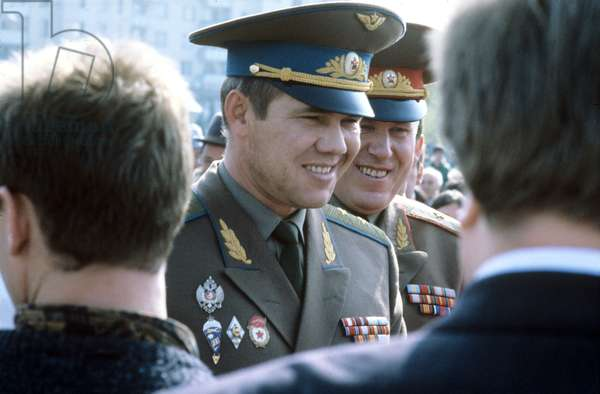 Commander of the 14th Russian Army Lt. Gen. Alexander Lebed, 1993 (photo)