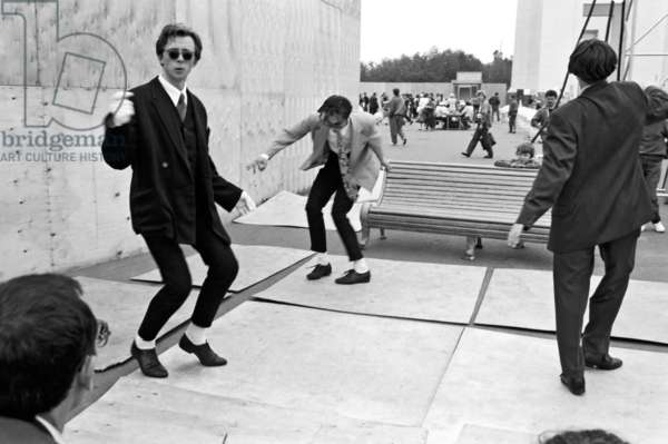 Moscow mods of the late 1950-ies dancing twist, Valeriy Shustov/Sputnik (photo)