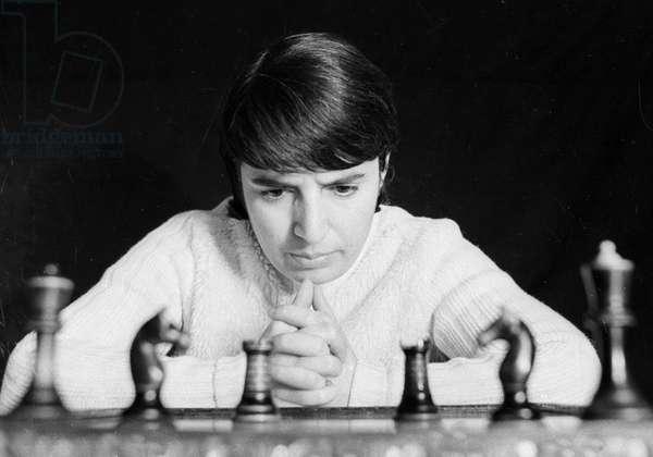 World chess champion Nona Gaprindashvili, Dec 1, 1972 (photo)