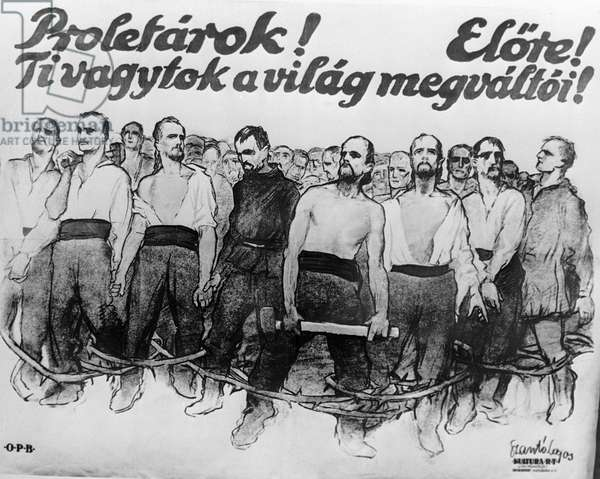 Poster 'Proletarian, Forward! You Are the World's Liberator' (litho)