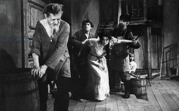 Still from the film-opera 'Katerina Izmailova' after Nikolai Leskov's novella