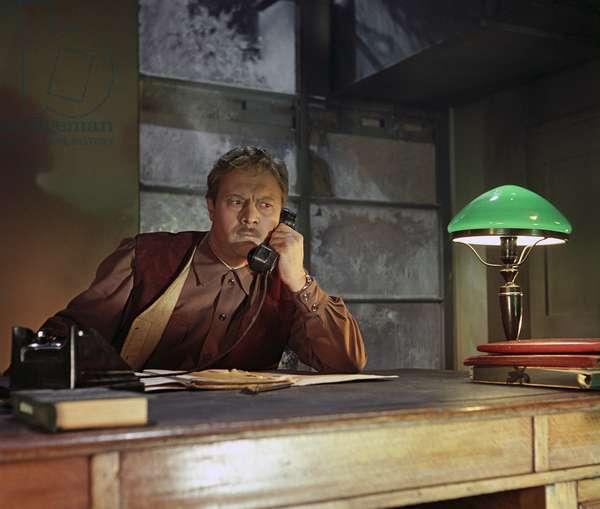 A scene from the movie 'Rovesnik Veka', Mosfilm, 1960 (photo)