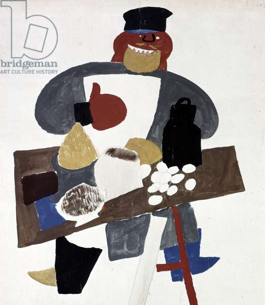 Wealthy Peasant' Poster, 1920-21 (litho)