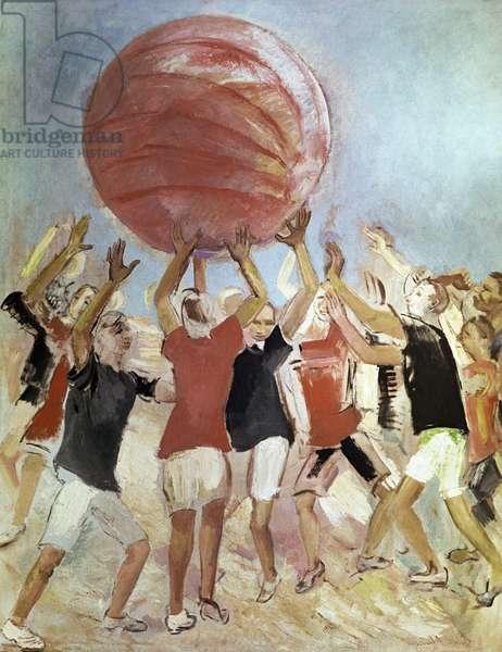 Push-Ball, 1931 (oil on canvas)