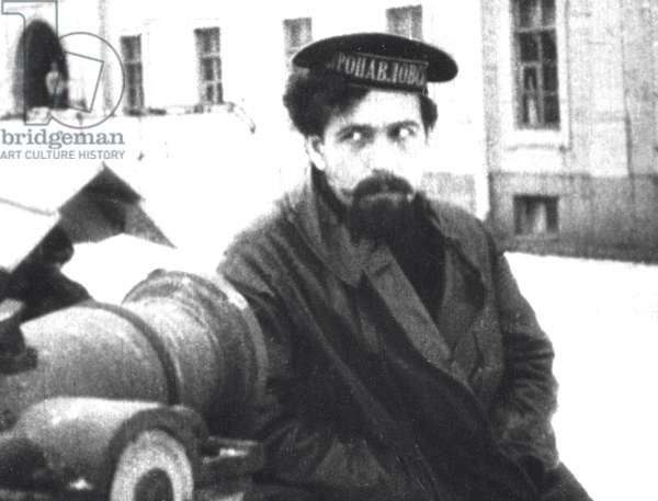 Pavel Dybenk , 1917 (b/w photo)