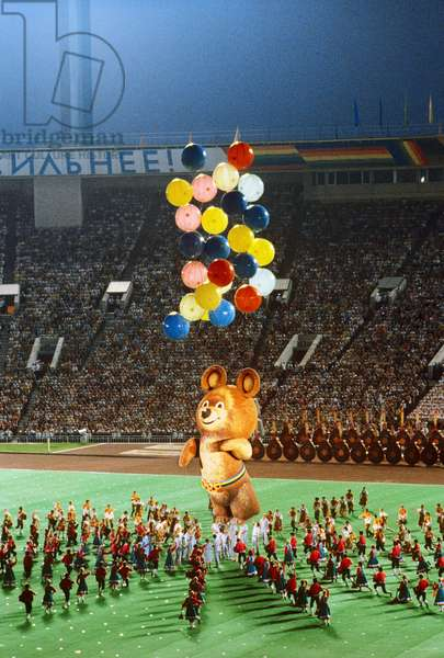 Closing ceremony for XXII Summer Olympic Games, Lenin Central Stadium (Luzhniki), Sergey Guneev/Sputnik (photo)
