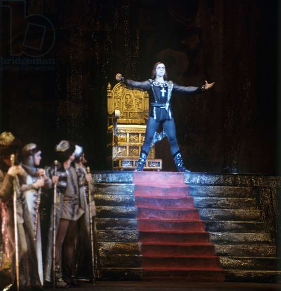 Yuriy Vladimirov as Ivan the Terrible in the Bolshoi theater production of Sergei Prokofiev's ballet
