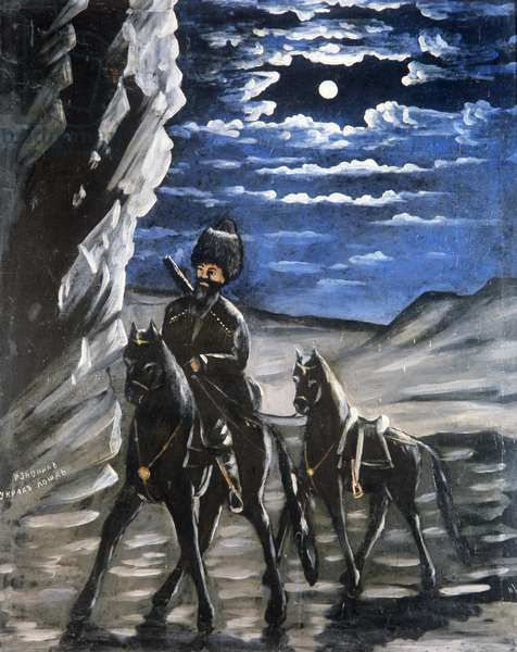 Robber with a Stolen Horse