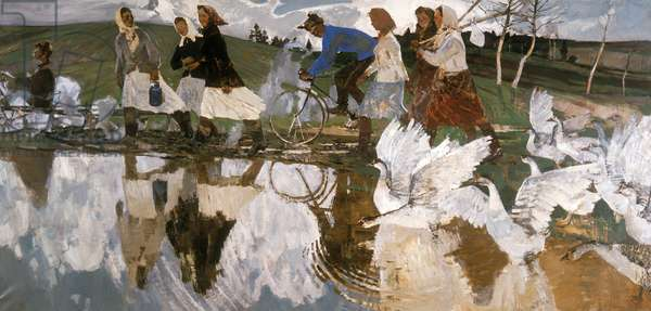 Morning, 1958 (oil on canvas)