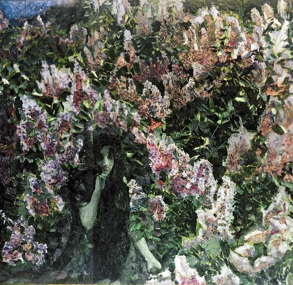 The Lilacs (oil on canvas)