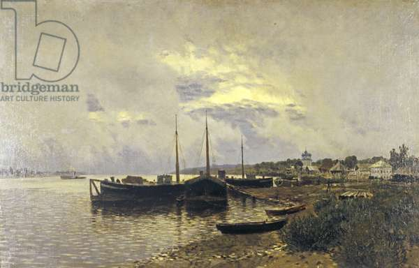 After Rain in Ples, 1889