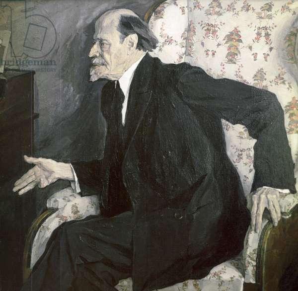 Mikhail Nesterov (oil on canvas)